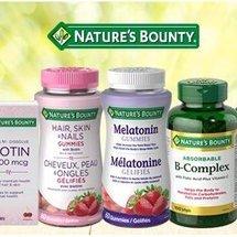 低至4.4折Nature's Bounty 自然之宝保健品促销  收胶原蛋白软糖 护眼叶黄素