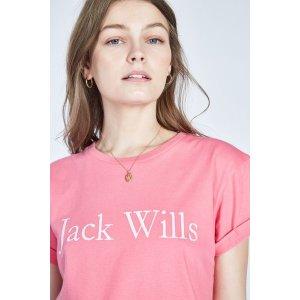 Jack WillsLogo 短袖(多色入)