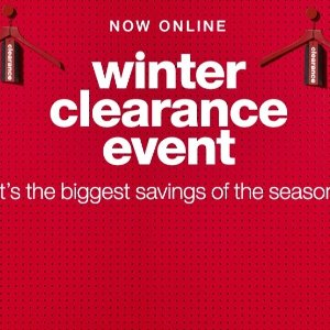As Low as $2T.J. Maxx Winter Clearance Event