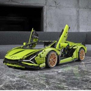 $489.99 VIP用户可提前购预告:LEGO官网 年度重磅 兰博基尼 6月1日上线啦
