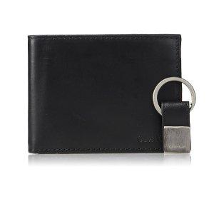 现价$18.48 (原价$45.00)Calvin Klein 男士皮革钱包、钥匙扣套装热卖