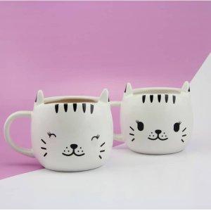 $8.4 Free Shipping PALADONE Happy Cat Heat Change Mug
