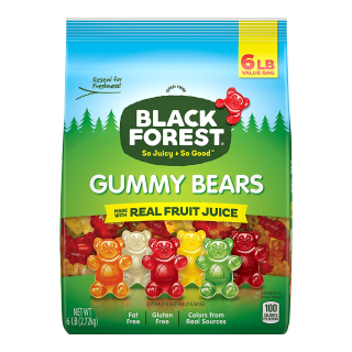 $8.82Black Forest Gummy Bears Candy, 6 lb