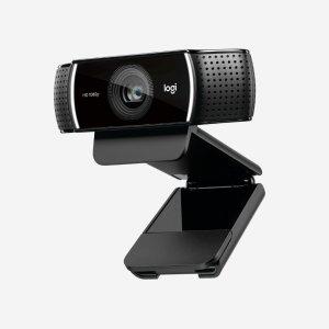 任一鼠标/键盘8.5折Logitech 购买Brio 4K Pro/C922 PRO/C920S PRO摄像头
