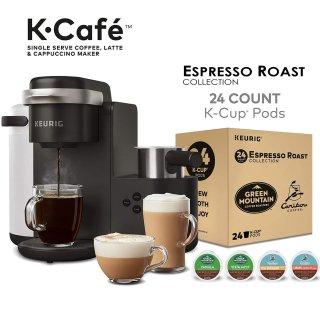 $109.99 销量冠军Keurig K-Cafe 单杯胶囊咖啡机+随机口味胶囊24个