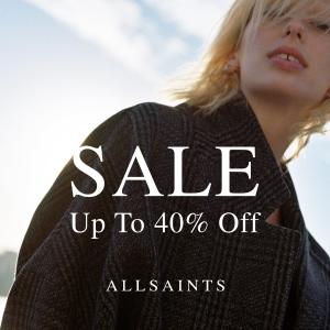 近600件美衣低至6折 £194收机车夹克All Saints 精选男女服饰年末大促 入手超划算的deal!