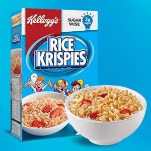 $3.59(原价$5.99)史低价:Kellogg's 香脆米花营养早餐640克 营养又健康