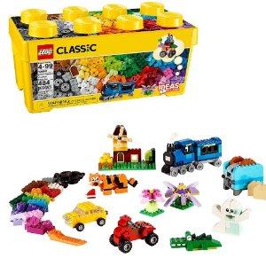 $24.88(原价$37.99)LEGO 经典创意中号积木盒10696 促销热卖