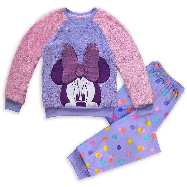 Minnie Mouse 茸茸睡衣