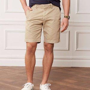 Khaki Shorts @ JACKSPADE.com