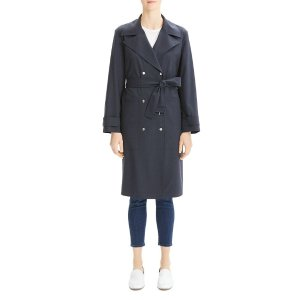 TheoryMilitary-Style Trench Coat