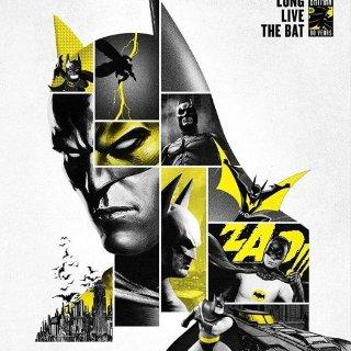 现场展示蝙蝠车 售票链接见内容欧美最大漫迷盛事Comic Con Paris 纪念蝙蝠侠登场80周年