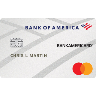 Low Introductory APR OfferBankAmericard® credit card