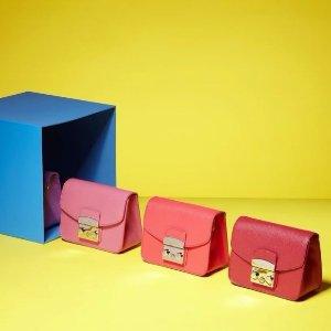 低至7折 母亲节大促Furla官网精选特价美包促销 收经典方块
