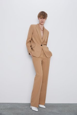 FLARED PANTS - View All-T-SHIRTS-WOMAN   ZARA United States