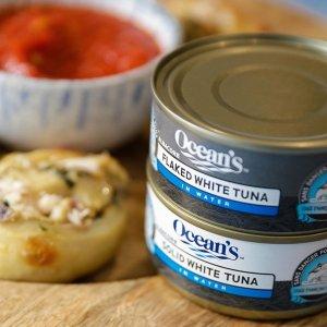 $4.41 单罐$1.47Ocean's 高蛋白金枪鱼罐头170g三罐 低脂低热 减脂友好