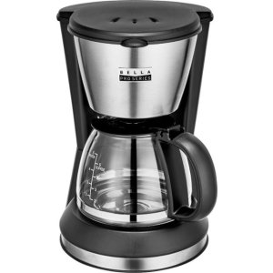 Bella- 5-Cup Coffee Maker - Stainless Steel