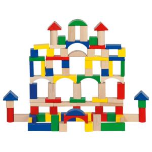 45折+到店自取免邮费史低价:Goki 德国著名积木品牌 100块积木才€8.99 在玩中培养孩子创造力