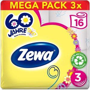 7折 €13.21收48卷Zewa 厕所卷纸生日限定版低价囤 免去超市搬运烦恼