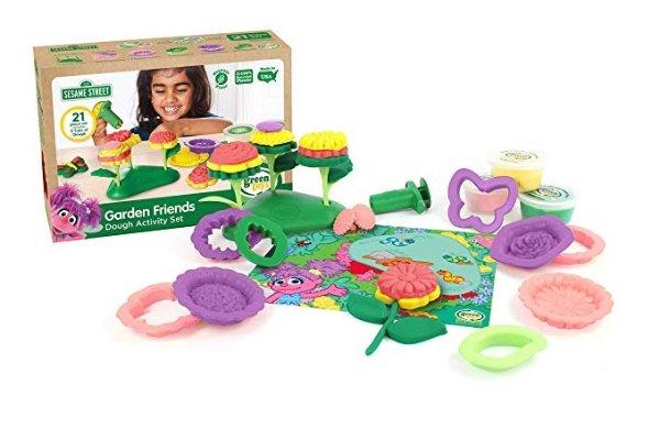 芝麻街花园玩具套装