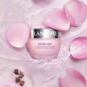 买1送1Lancome 精选护肤彩妆热卖  收长效持妆粉底液、水份缘日霜