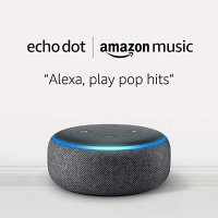 Echo Dot 3代智能音箱 + 1个月Amazon Music Unlimited