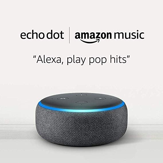Echo Dot 3代智能音箱 + 1个月Amazon Music Unlimited