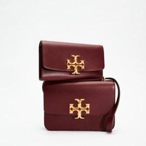 直接5折 £37收老花卡包Tory Burch 特价专区上线 盾牌包、小香风开衫极限低价!