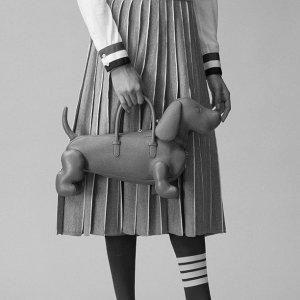 变相6.4折 收经典羊毛针织外套Thom Browne 高级优雅四道扛系列热卖