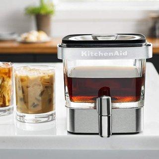 $47.99(原价$129.99)史低价:KitchenAid KCM4212SX 冷泡咖啡机 28盎司