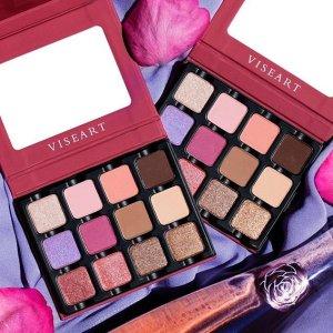 低至8折 小巧盘$24收Sephora官网 Viseart彩妆产品促销  收超美仙女紫眼影盘