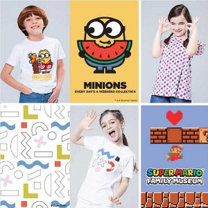 $9.9 for One, Buy 2 for $7.9 EachHello Kitty, Mickey Mouse, MINIONS and MoreGraphic T-shirts and Sweatshirts @ Uniqlo