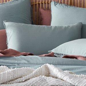 Bamboo Linen Sage 枕套
