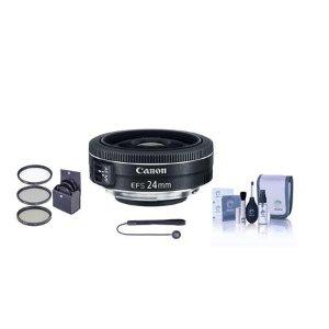 低至$99Canon EF镜头+滤镜套装,超轻便饼干头EF出行绝佳