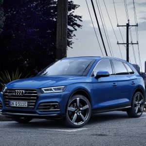 动力堪比SQ5 油耗百公里仅2.1L新款插电混动SUV Audi Q5 E Quattro 即将上市