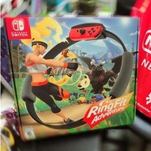 仅售€79.99 现货不加价惊喜补货:Nintendo Switch《健身环大冒险》 减肥神器 理财利器