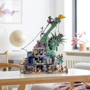 售价£279.99,满额送猪年限量套装(40186)上新:LEGO乐高 大电影2系列之 欢迎来到Apocalypseburg 70840
