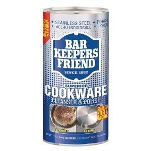 $3.47 包邮Bar Keepers Friend 家庭万能去污神器 还你全新锅具12盎司