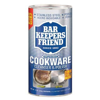 $3.47Bar Keepers Friend Superior Cookware Cleanser & Polish | 12-Ounces | 1-Unit