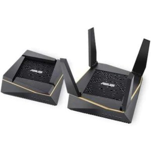 Asus RT-AX92U AX6100 Wi-Fi 6 无线路由器 2只装
