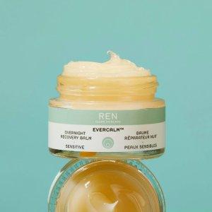 REN Clean Skincare夜间护理膏