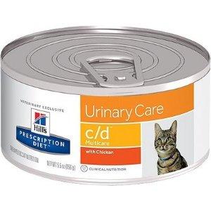 Hill's Prescription Diet泌尿护理鸡肉味猫湿粮罐头 5.5oz 24罐