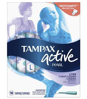 $2.79Tampax 珍珠系列 卫生棉条18支装 量少无香型