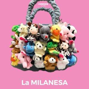 €322即收 补货速抢!La Milanesa 超火公仔玩偶包补货 可爱到犯规 少女心爆棚