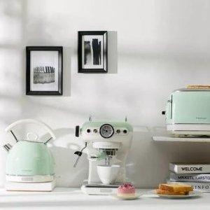 低至6折 咖啡机$165起,电饭锅$84德龙&铂富 小家电大全 面包机、咖啡机随心选