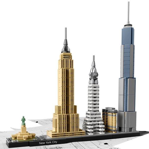 纽约 21028 | Architecture | Buy online at the Official LEGO® Shop CA
