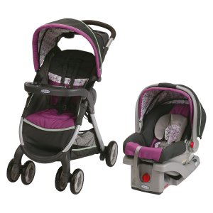 As Low As $103Graco FastAction Travel System Stroller, Finley