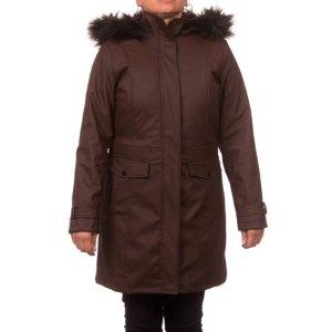 $17.50(Org.$34.31) Women's Faux Leather Anorak Coat @ Walmart