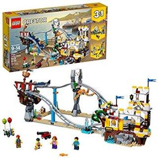$57.99(原价$89.99)史低价:LEGO乐高 Creator 3合1系列 海盗过山车31084,3种搭建方式