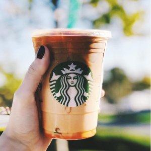 下午2点后拿铁和玛奇朵半价限今天:Starbucks 星巴克 Happy Hour 限时优惠又双叒叕来啦